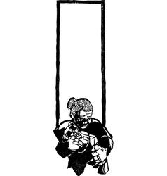 Dead Baby vector image vector image