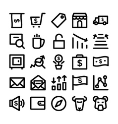 Finance and money colored icons 4 vector
