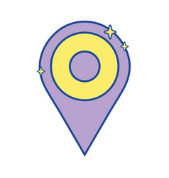 Location graphic symbol design icon vector