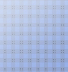 Geometric blue square seamless pattern vector image