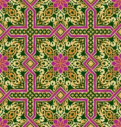 islamic ornament seamless vector image vector image