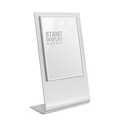 Retail Trade Stand stand banner vector image vector image
