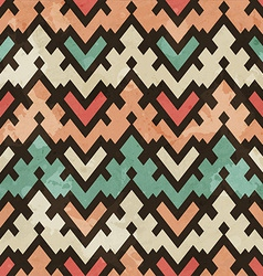 Vintage geometric seamless pattern vector