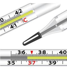 medical glass mercury vector image