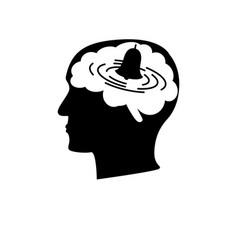 Anxiety disorder icon vector