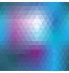 Blue mosaic seamless vector image vector image