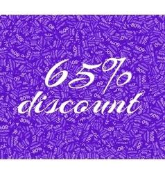 Sale Labels Background vector image