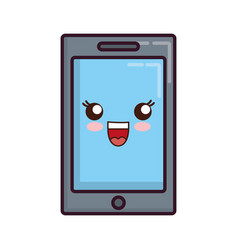 Smartphone device icon vector