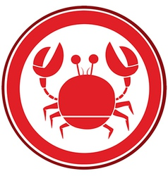 Crabs logo vector