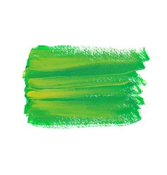 Green acrylic spot vector
