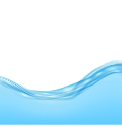 Blue water waves vector