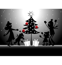 Christmas holidays vector