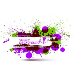 Colored modern acrylic wallpaper eps8 blob vector