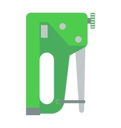 Industrial stapler concept of home improvement vector