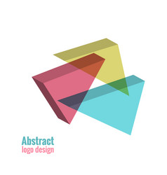 Abstract logo design vector