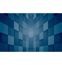 Abstract mosaic hi-tech blue background vector image