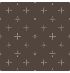 Seamless pattern with leaves and petals vector