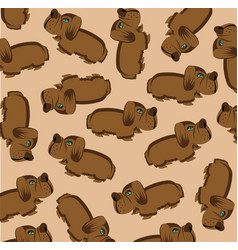 much dogs on gray background vector image vector image