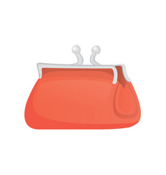 purse finance bag flat icon vector image
