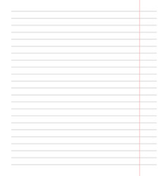school notebook in a line vector image