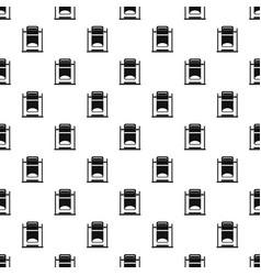 Swinging trashcan pattern vector