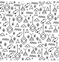 Symbolic linear pattern vector