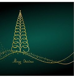 xmas design vector image