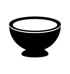 Isolated kitchen bowl design vector