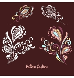 Abstract eastern pattern 3 vector