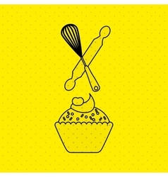 Bakeware silhouette design vector