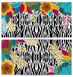 Animal Print design vector image vector image