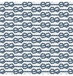 Marine knot seamless pattern vector