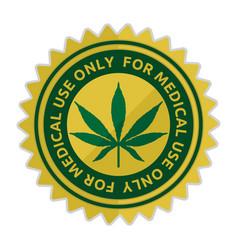 Medical cannabis vector
