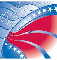 Patriotic Stripes vector image vector image