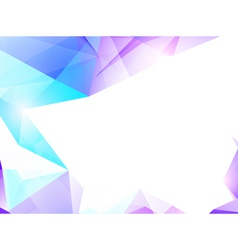 Abstract Violet and Turquoise Background vector image vector image