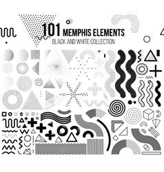 Mega set of design elements vector image vector image