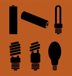 Symbols of hazardous waste vector