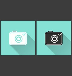 Photo - icon vector
