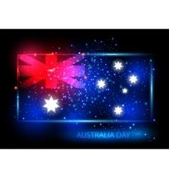 Australia day card design vector image vector image