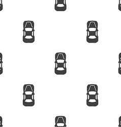 car top seamless pattern vector image