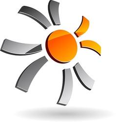 Company symbol vector image vector image