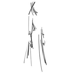 Fashion girls sketch cartoon models vector