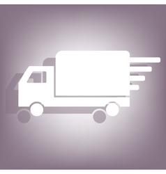 Free delivery icon vector