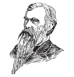 General william mahone vintage vector