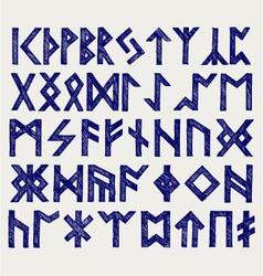 Runic script vector
