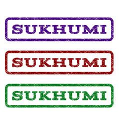 Sukhumi watermark stamp vector