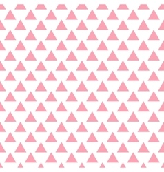 Geometric pink seamless pattern triangles vector