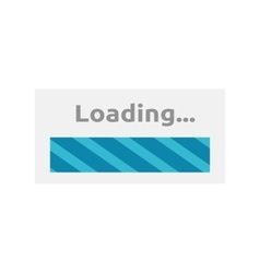 Loading Icon Isolated vector image vector image