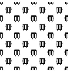 Metal trashcan pattern vector
