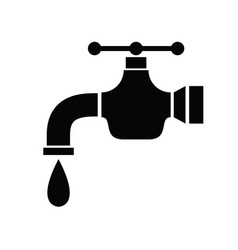 tap icon vector image